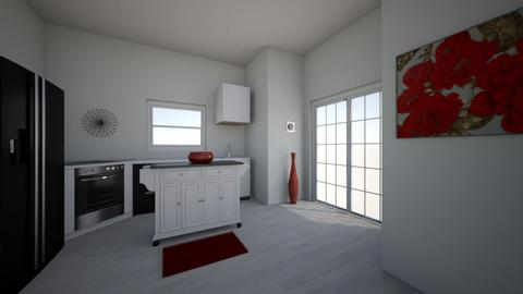 strawverry room - Kitchen  - by tange004