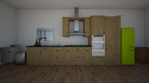 wwork on the kitchen - Minimal - Kitchen  - by mia1211