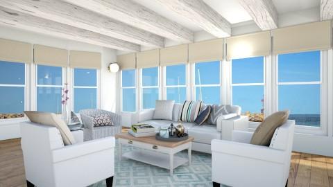 Massachusetts Family Room - Classic - Living room  - by Cheval2016