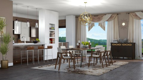 Kitchen for 5 - Kitchen  - by meggle