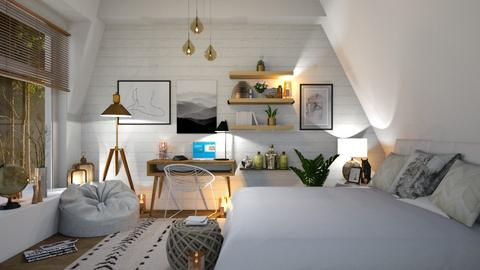 Eclectic 2 - Bedroom  - by zarky
