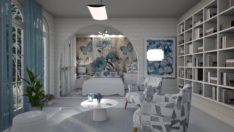 M_ Flower Bedroom - Bedroom  - by milyca8