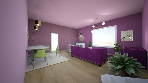 Purple Fusion - Glamour - Living room  - by NPearson09