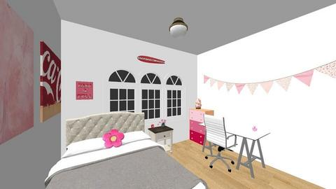 My room - Bedroom  - by miadyer