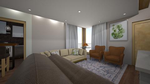 Cafe com Leite - Living room  - by brendaregll