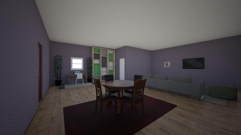 milesroom - Living room  - by Milesklapper