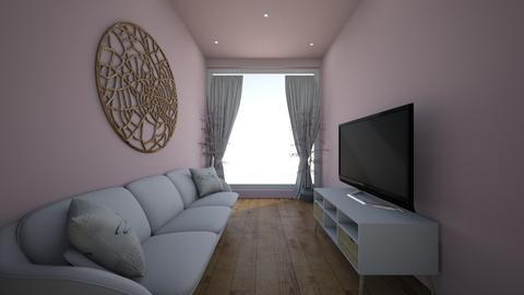 Simple Pink living room - Modern - Living room  - by Sophia_Pavate_