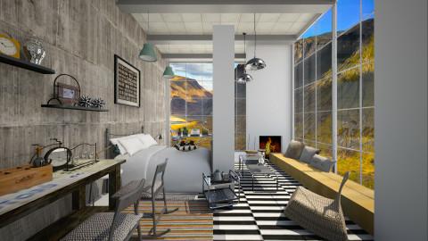 KK1615 Industrial House - Modern - by KK1615