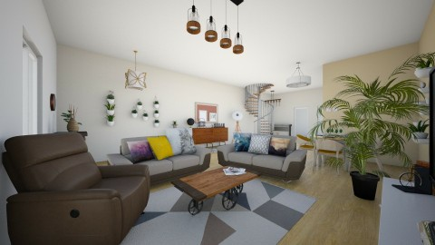 Mon salon  - Living room - by Ines 66