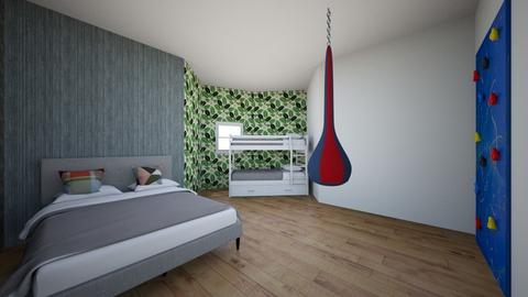 szoba 1 - Modern - Kids room  - by Cilus