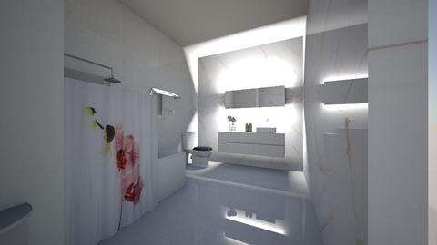 Marble Bathroom - Bathroom - by Gab71892