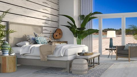 beach - Bedroom  - by the_ journey