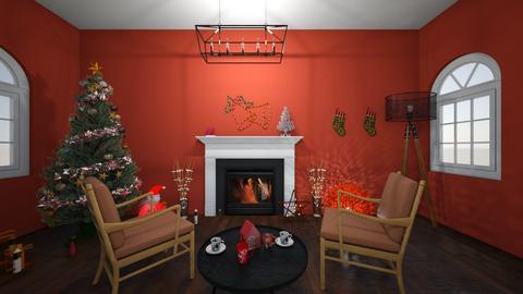 sala   natal - Living room  - by sophia  ester