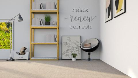 reading area_REMIX - Modern - by Arianna_10