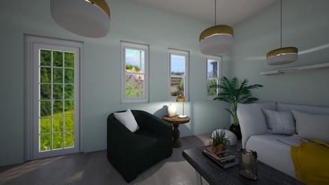 Soft living room - Living room  - by chariser1