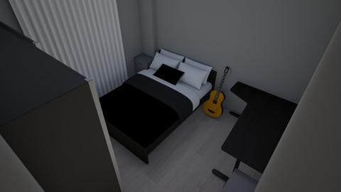 My future room - Modern - Bedroom  - by ferretwithaberet