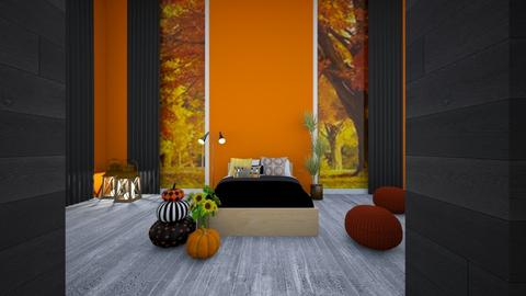 Autumn Bedroom - Bedroom  - by Wensday