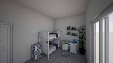 dormitor andrei ghitescu - Modern - Bedroom  - by AndreiGhitescu10