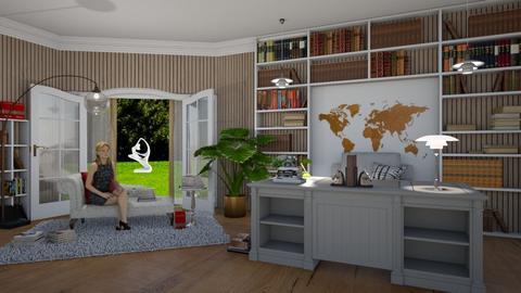 Books in Matilda's interior - by Matilda de Dappere