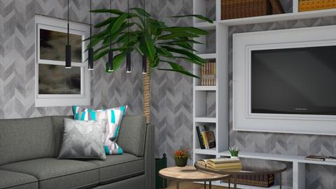 Night living room - Living room  - by Corzer