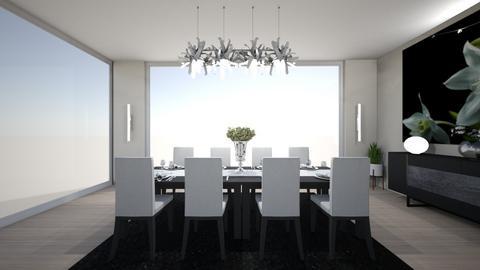 house d - Dining room  - by nikolinajadanic