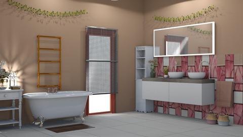 Sunset Bathroom - Bathroom - by abbyt94