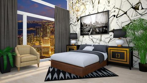 cityscape - Bedroom - by JiaJayy