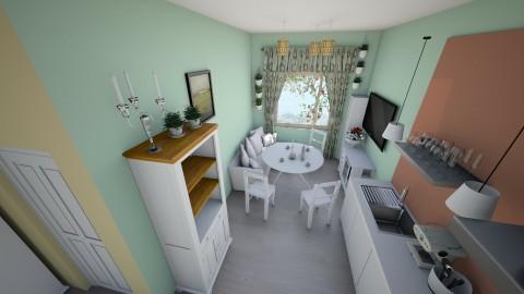 dibenko 3 - Rustic - Kitchen  - by woodmoh