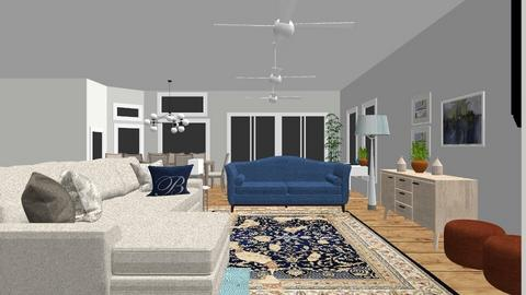 Layton ADDITION furnished - Living room  - by NielsonInteriors