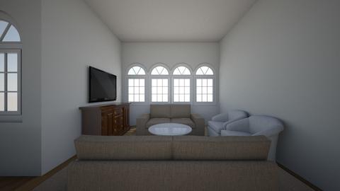 305 Living 2 Loveseats - Living room  - by allielevanway