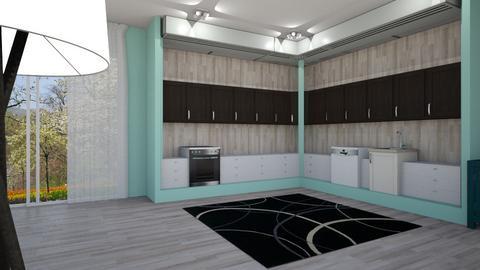 Home Kitchen - Modern - Kitchen  - by designcat31