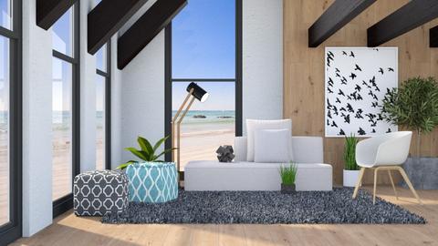 ARTISAN FLOORING - Modern - Living room  - by millerfam