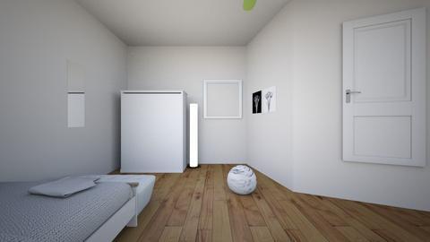 Teen bedrom - Vintage - Bedroom  - by evieisawaffle179