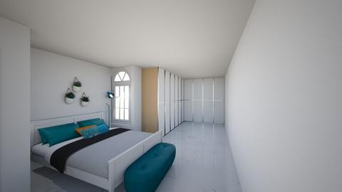 room - Modern - Bedroom  - by rosiealupton