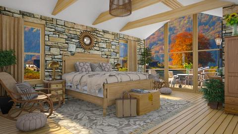 Design 480 Autumn Afternoon - Bedroom  - by Daisy320