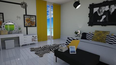 Bedroom - Modern - Bedroom  - by kwanda01