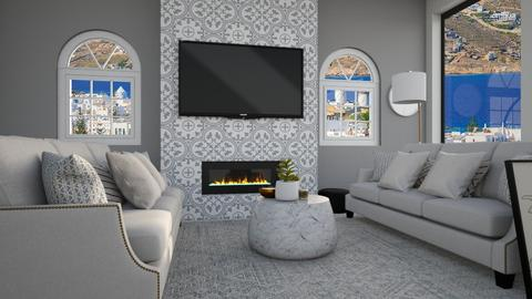 fireplace_contest_Chayjer - Living room  - by Chayjerad