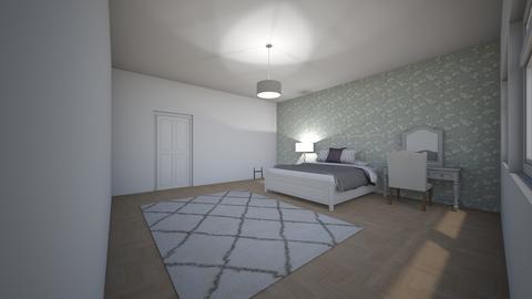 Katies new bedroom - Bedroom - by kmartin2018