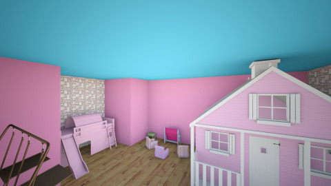 little girls room - Kids room - by josierobsonxx