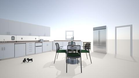 Scene for Play - Kitchen  - by MykalaOkeke