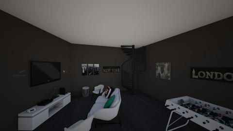 Living Room - Minimal - Living room - by ondesdesfleurs