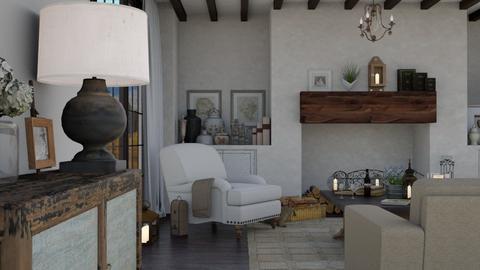 hogar dulce hogar - Living room  - by Charipis home