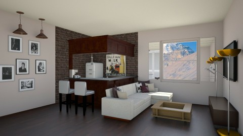 Living room - Living room  - by singerofthefall