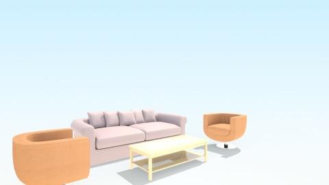 lll - Living room - by farahabilmona