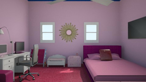 pretty in pink - Bedroom - by cutehot831