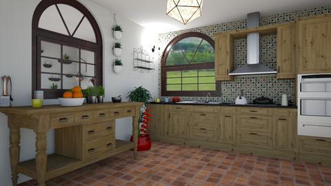 cocina - Kitchen  - by Abigel45