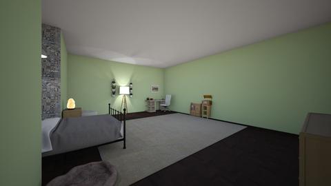 Final room - Bedroom  - by belzamo