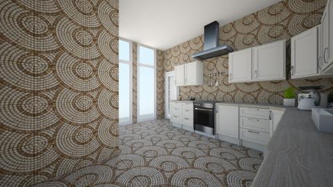 Student villa - Minimal - Kitchen  - by manondenijsx