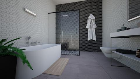Minimalistic Bathroom  - Minimal - Bathroom  - by MiDesign