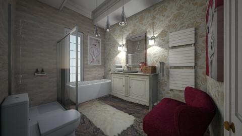 Mansion Edir Macedo  - Glamour - Bathroom  - by gianbarbieri